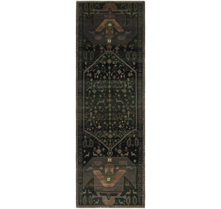 3' 9 x 12' 4 Ultra Vintage Persian R...