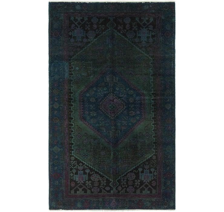 122cm x 208cm Ultra Vintage Persian Rug