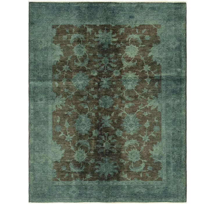 4' 10 x 6' 5 Over-Dyed Ziegler Rug