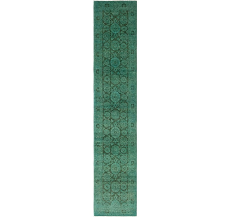 90cm x 475cm Ultra Vintage Persian R...