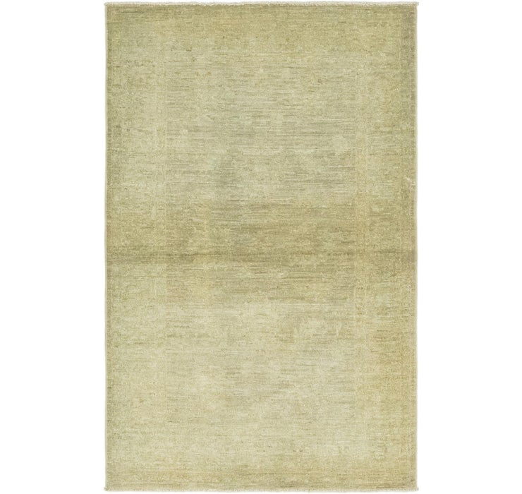 3' 3 x 5' 1 Over-Dyed Ziegler Rug