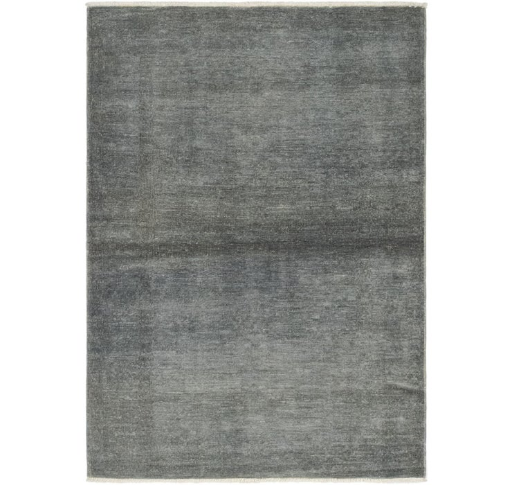 3' 4 x 4' 10 Over-Dyed Ziegler Rug