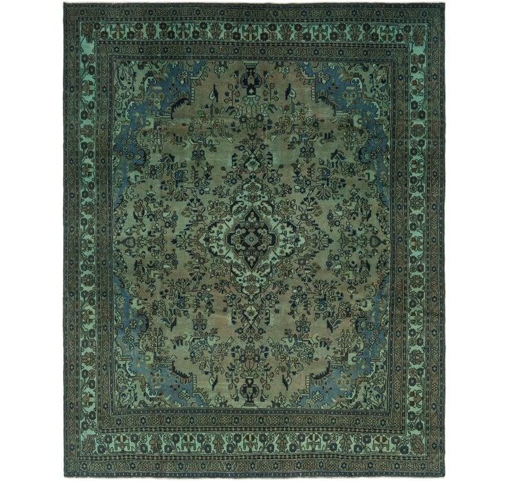 310cm x 385cm Ultra Vintage Persian Rug