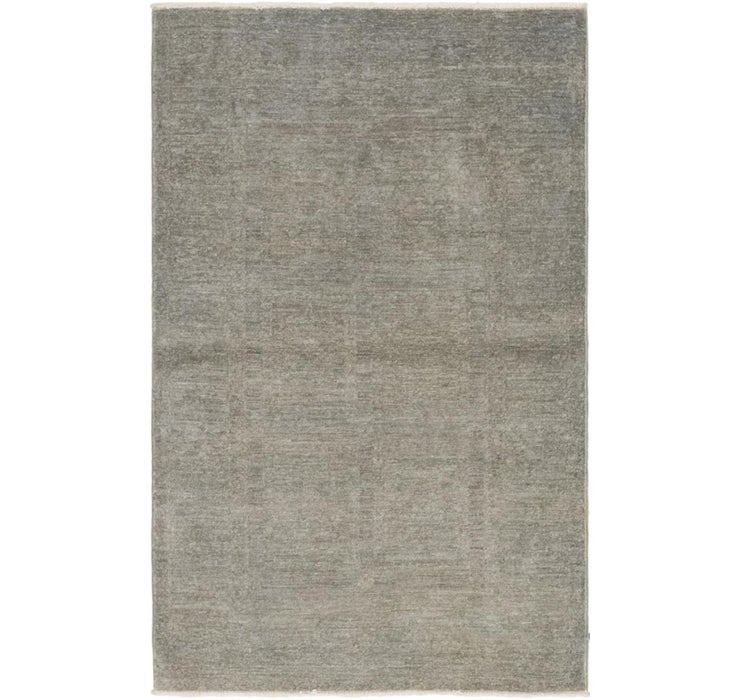 3' x 4' 10 Over-Dyed Ziegler Rug