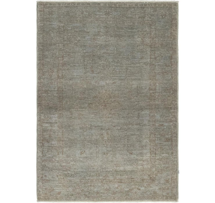 Image of 3' 2 x 4' 7 Over-Dyed Ziegler Rug