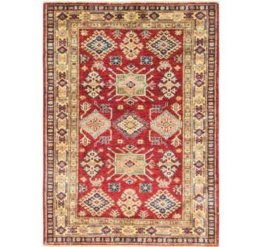 Image of 3' 5 x 4' 10 Kazak Oriental Rug