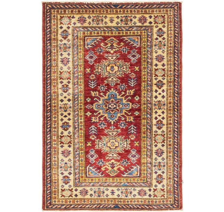 2' 6 x 3' 9 Kazak Oriental Rug