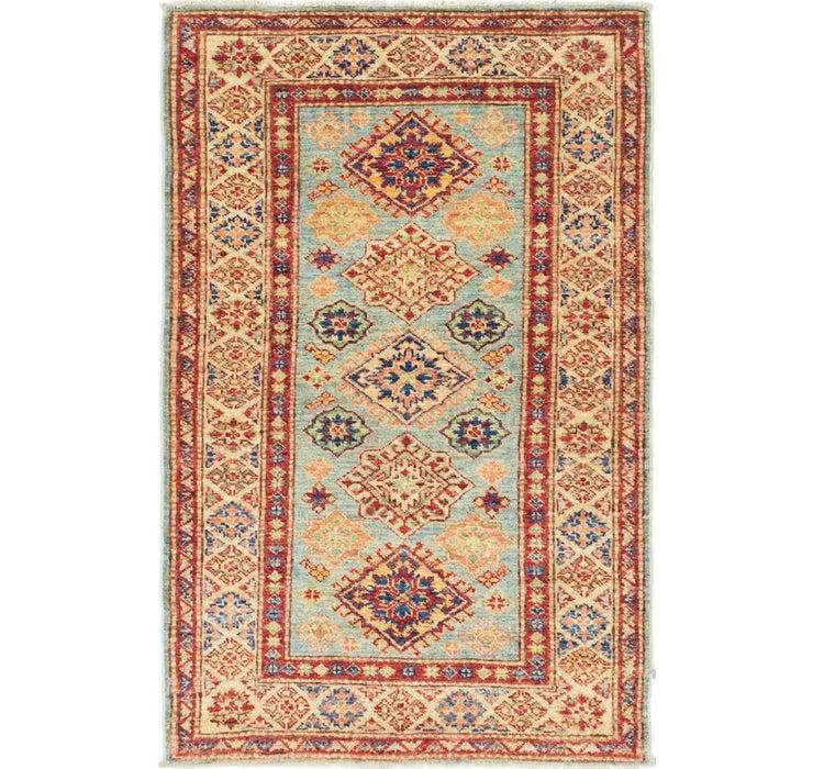 80cm x 130cm Kazak Oriental Rug