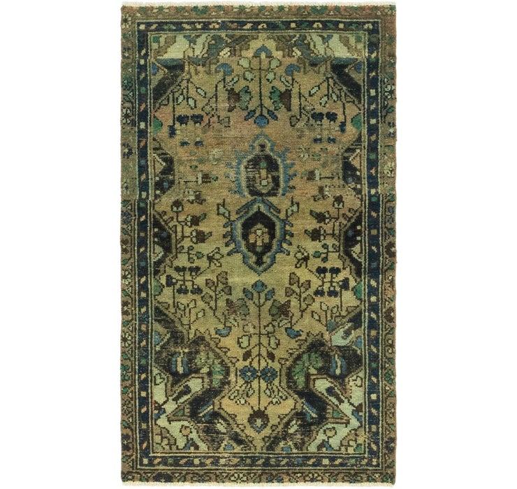 2' 8 x 4' 9 Ultra Vintage Persian Rug