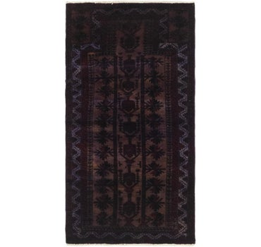 2' 4 x 4' 6 Ultra Vintage Persian Rug main image