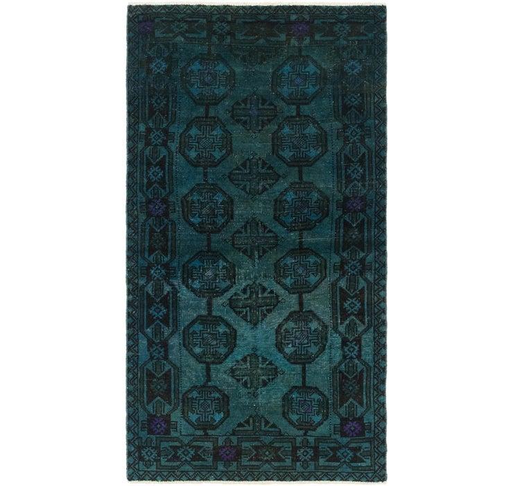 70cm x 137cm Ultra Vintage Persian Rug