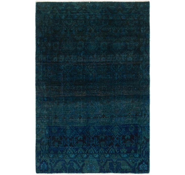 102cm x 165cm Ultra Vintage Persian Rug