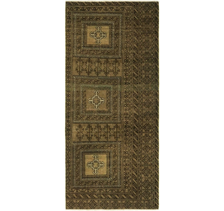 100cm x 235cm Ultra Vintage Persian R...