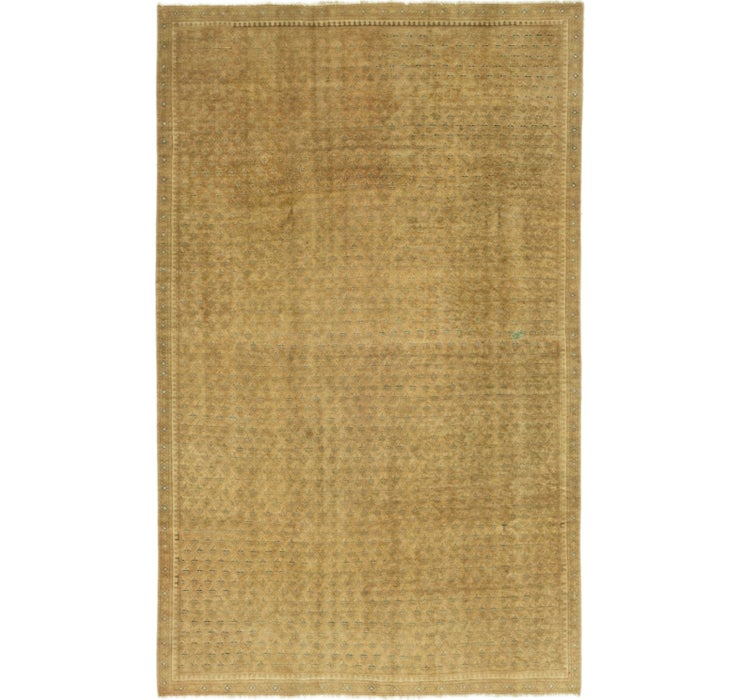 168cm x 270cm Ultra Vintage Persian Rug