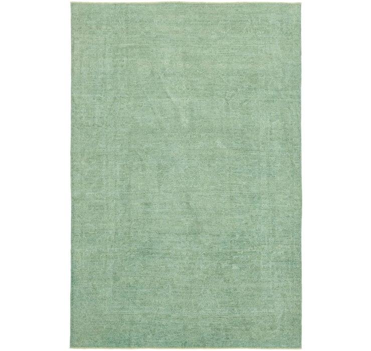 6' 1 x 9' 2 Over-Dyed Ziegler Rug