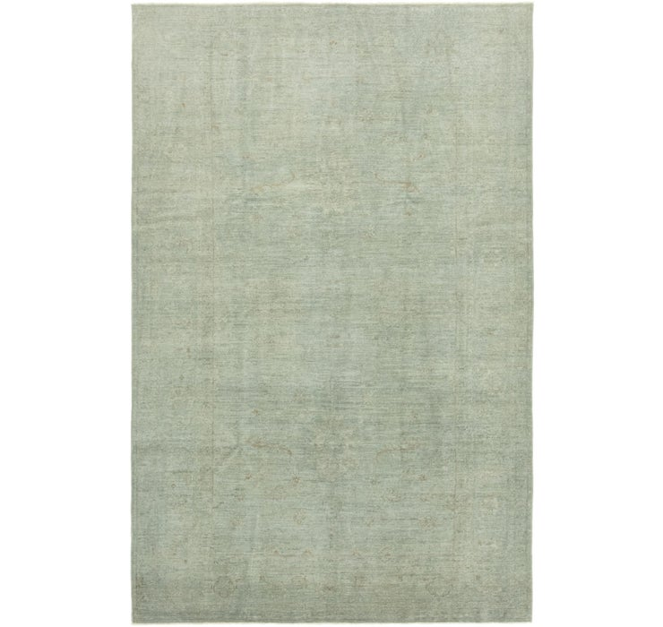 6' 6 x 10' 2 Over-Dyed Ziegler Rug