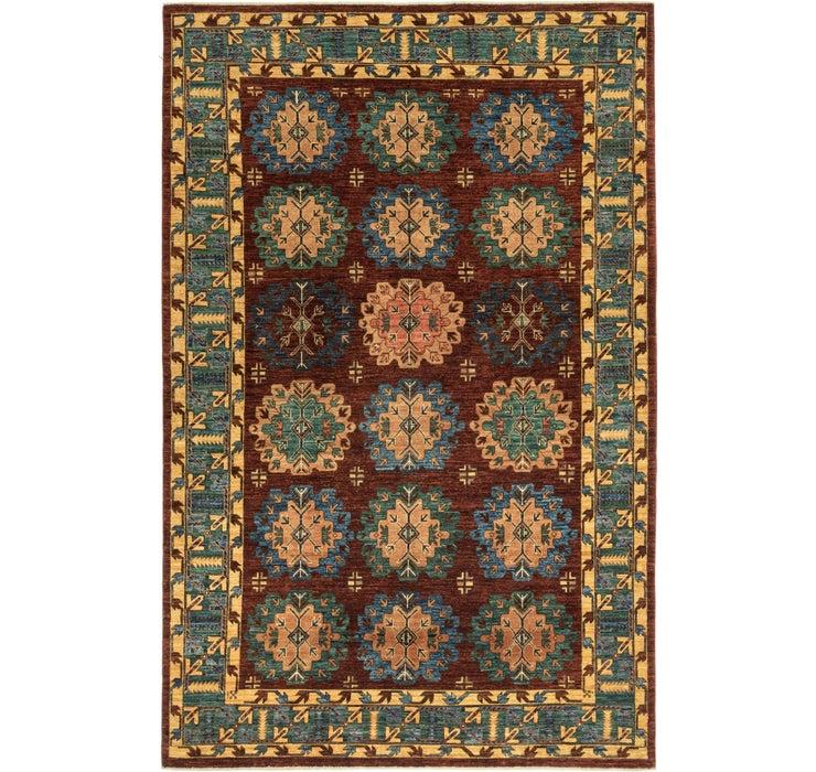 6' 3 x 9' 8 Kazak Oriental Rug
