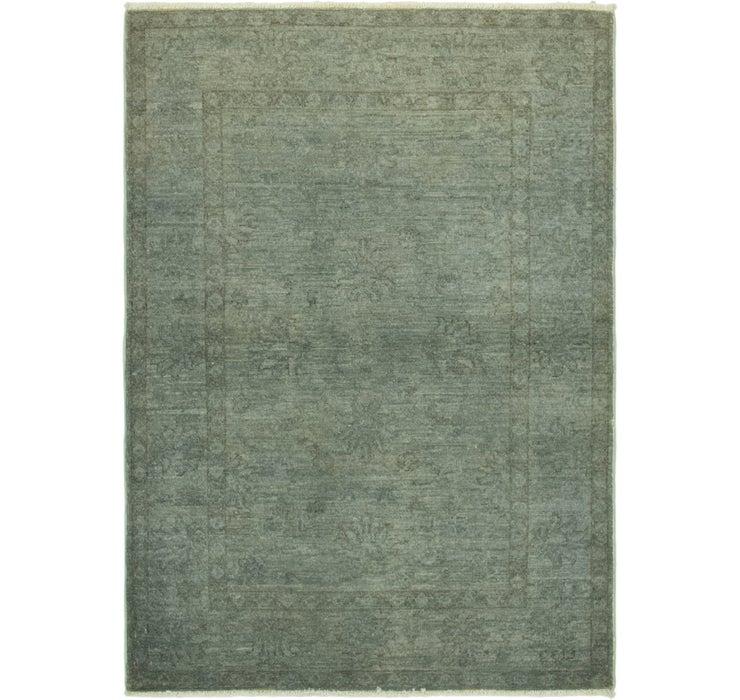 102cm x 145cm Over-Dyed Ziegler Rug