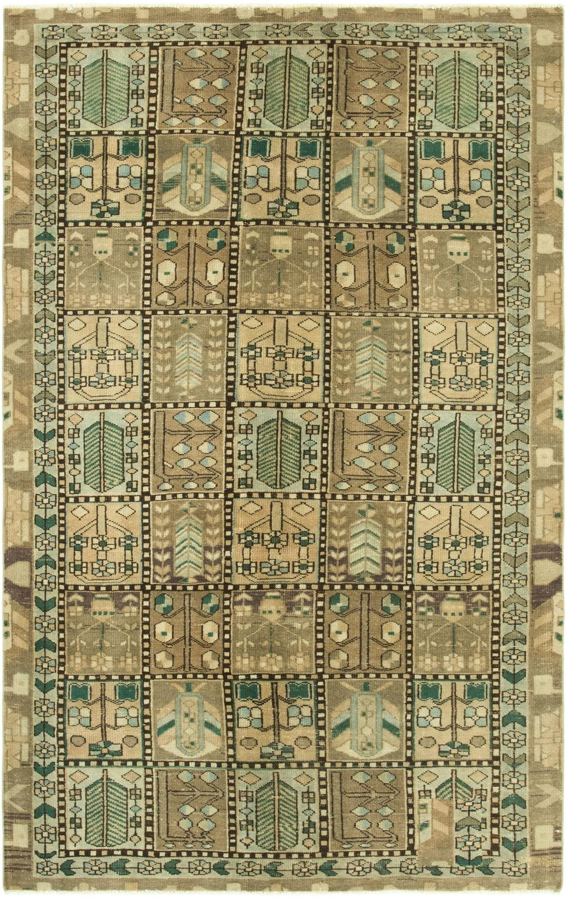 5' x 8' 5 Ultra Vintage Persian Rug main image