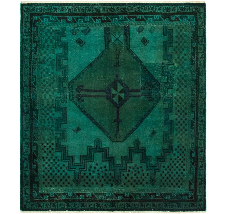 140cm x 157cm Ultra Vintage Persian S...