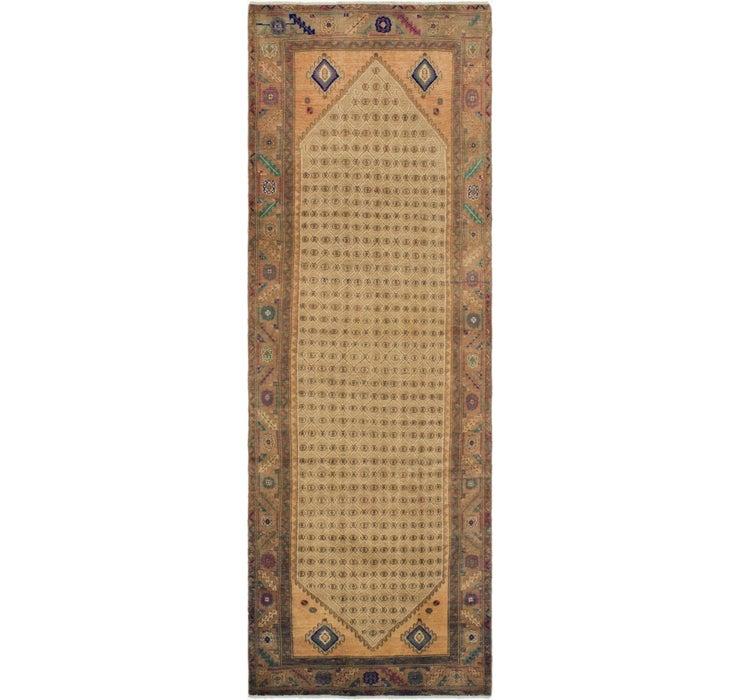3' 7 x 11' Ultra Vintage Persian R...