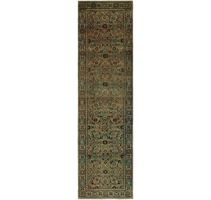 3' 6 x 13' 3 Ultra Vintage Persian R...