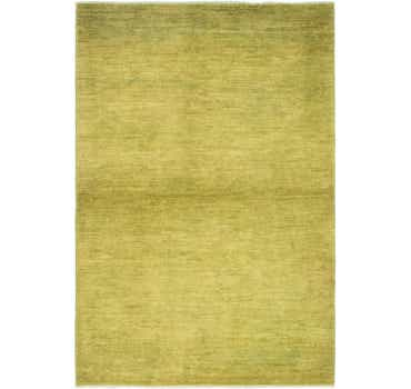 Image of 3' 3 x 4' 10 Over-Dyed Ziegler Rug