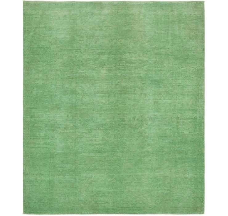 8' x 9' 4 Over-Dyed Ziegler Rug