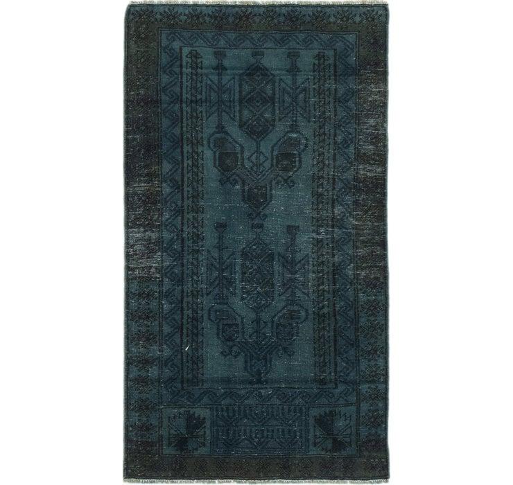 2' 7 x 4' 9 Ultra Vintage Persian Rug