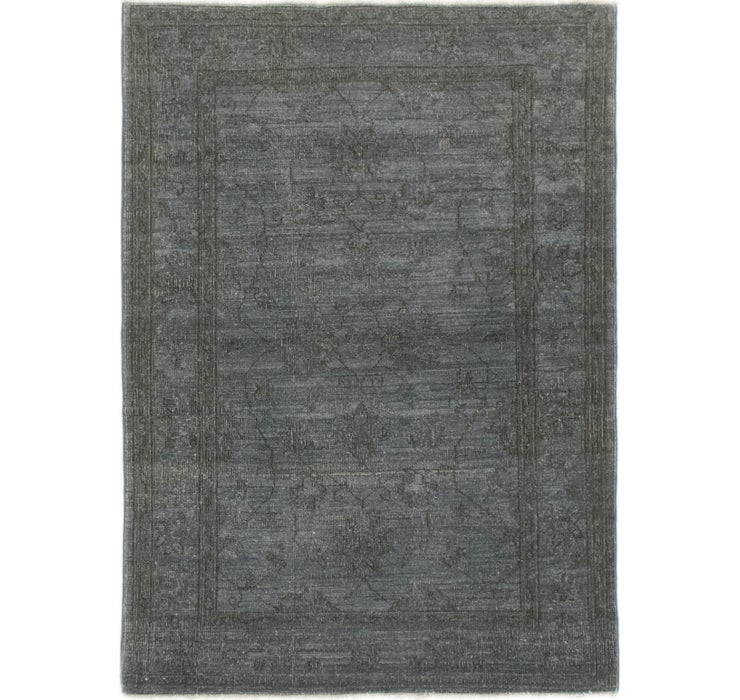 3' 3 x 4' 6 Over-Dyed Ziegler Rug