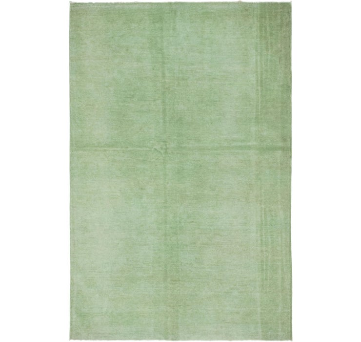 4' 7 x 7' Over-Dyed Ziegler Orien...