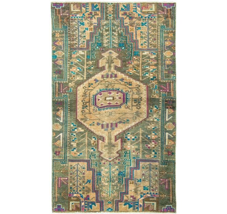 2' 9 x 4' 8 Ultra Vintage Persian Rug