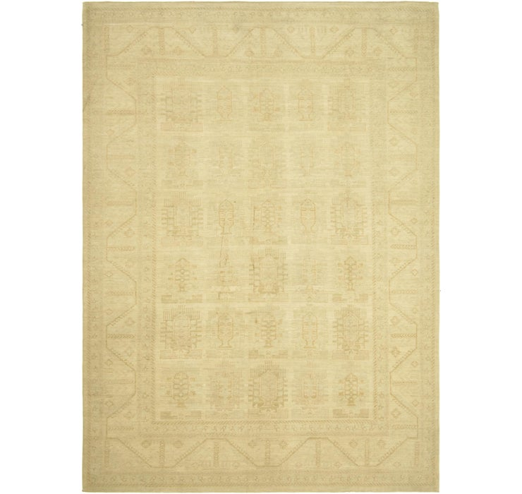 9' 10 x 13' 8 Over-Dyed Ziegler Rug