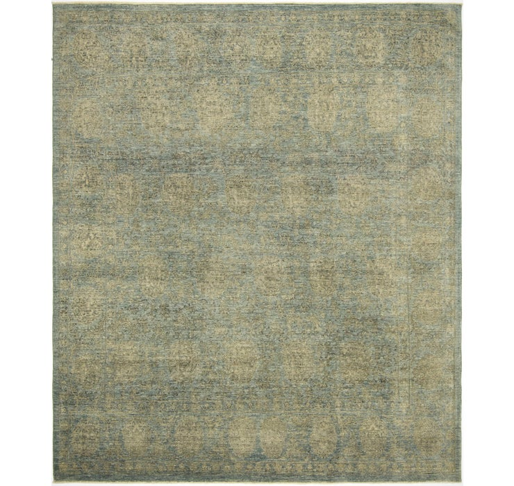 Image of 8' x 9' 5 Over-Dyed Ziegler Rug