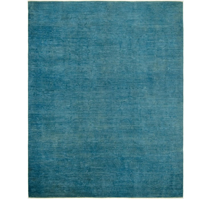 7' 9 x 9' 10 Over-Dyed Ziegler Rug
