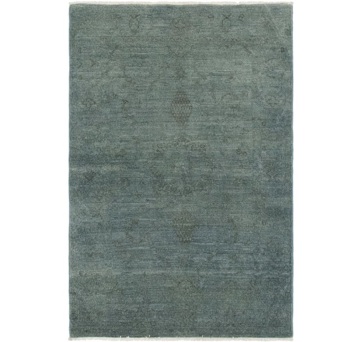 3' x 4' 8 Over-Dyed Ziegler Rug