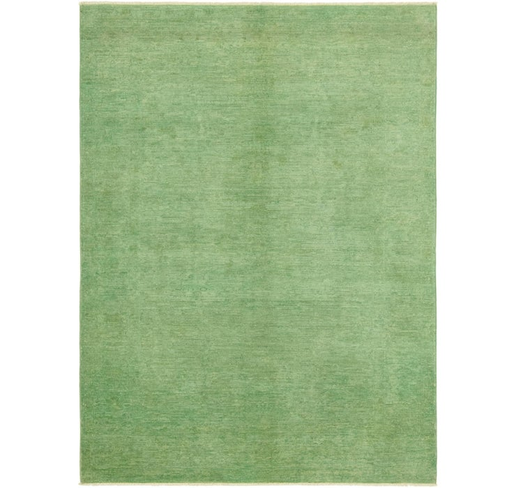 4' 9 x 6' 8 Over-Dyed Ziegler Rug