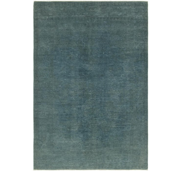5' 10 x 8' 10 Over-Dyed Ziegler Rug