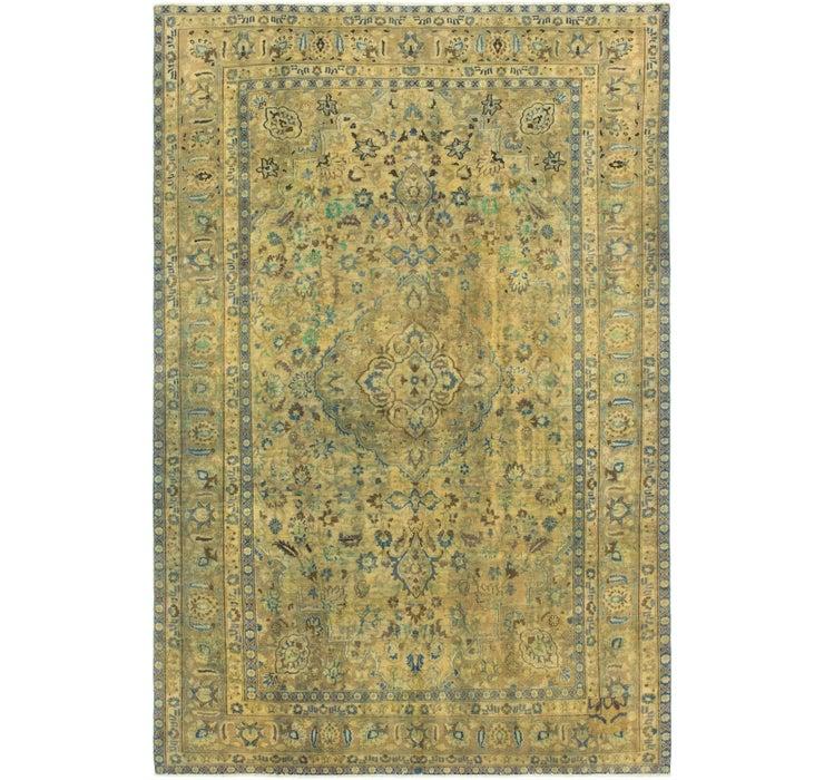 6' 1 x 9' 4 Ultra Vintage Persian Rug