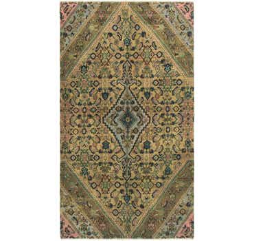Image of 4' 6 x 8' 3 Ultra Vintage Runner Rug
