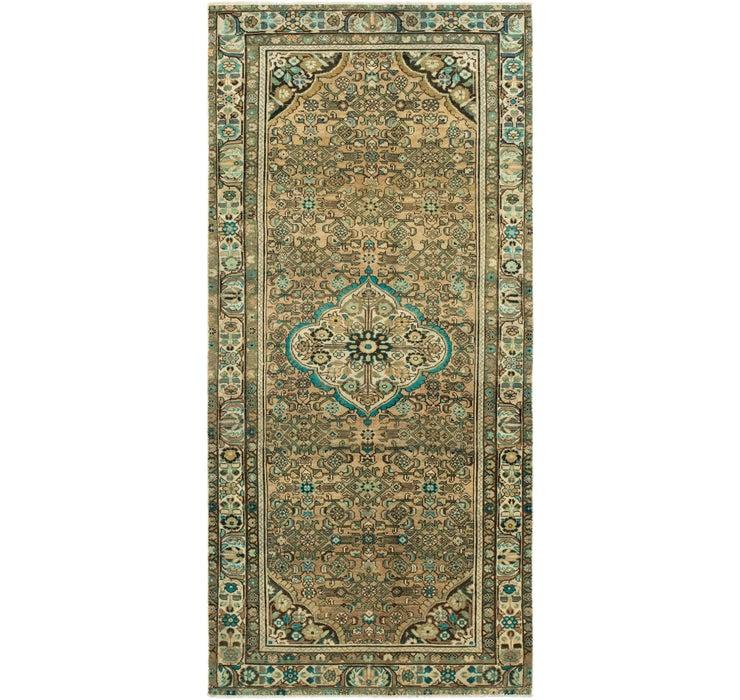 4' 7 x 10' 5 Ultra Vintage Persian R...