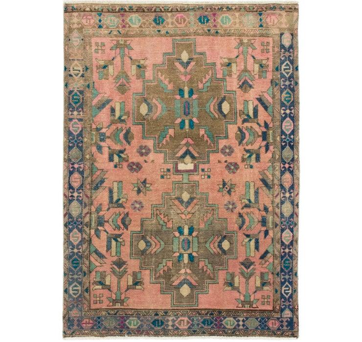 117cm x 168cm Ultra Vintage Persian Rug