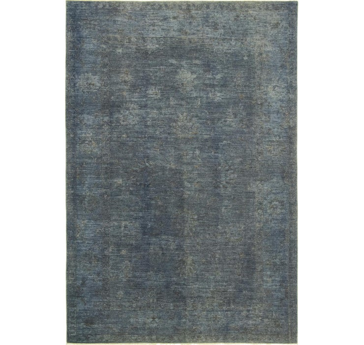 6' 8 x 9' 9 Over-Dyed Ziegler Rug