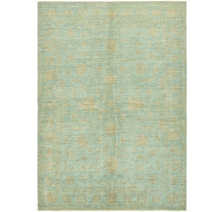 5' 6 x 7' 10 Over-Dyed Ziegler Rug