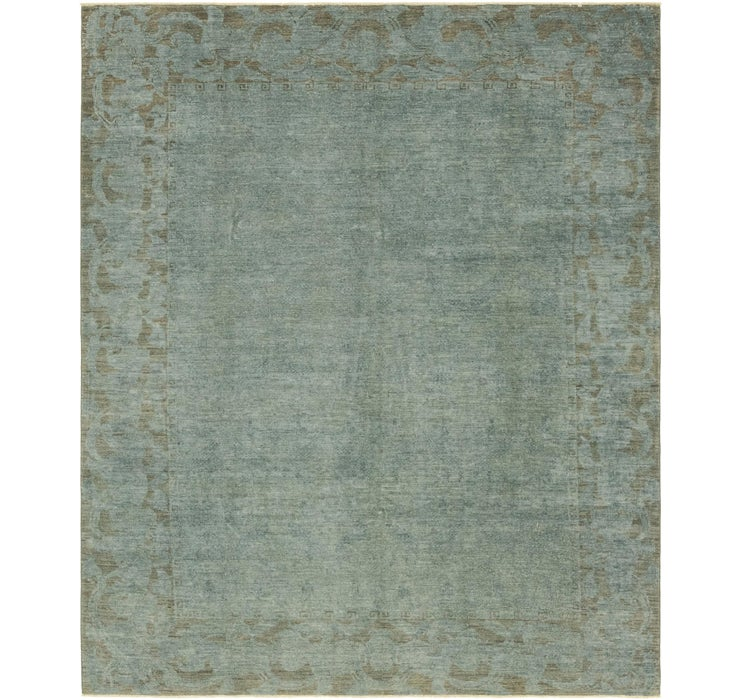 Image of 245cm x 297cm Over-Dyed Ziegler Rug