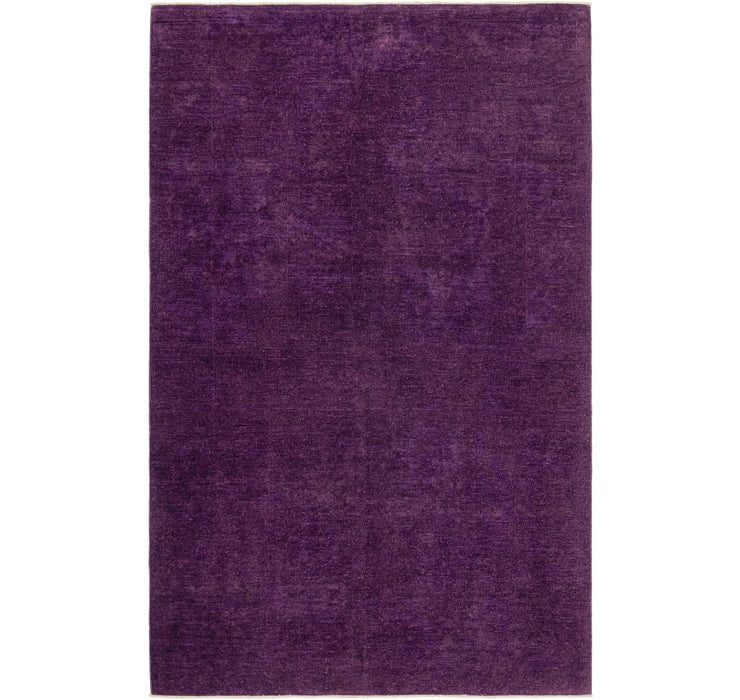 6' x 9' 8 Over-Dyed Ziegler Rug
