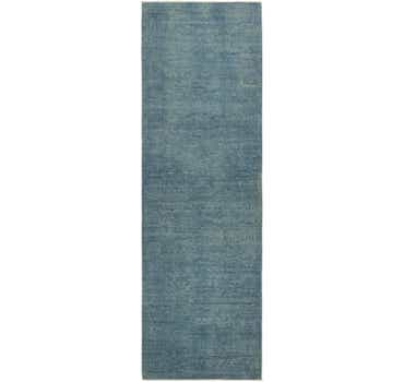 Image of 2' 10 x 9' 10 Over-Dyed Ziegler Runne...