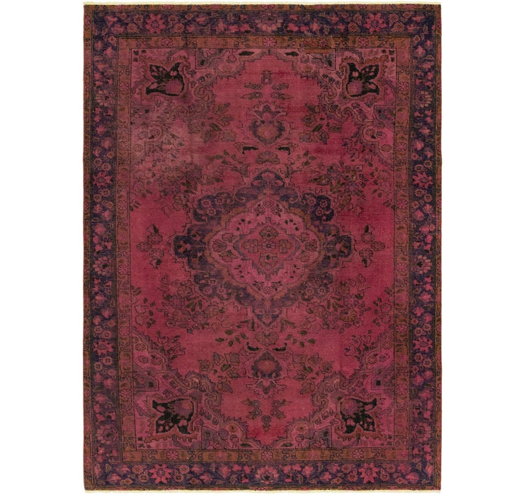 6' 6 x 9' 2 Ultra Vintage Persian Rug