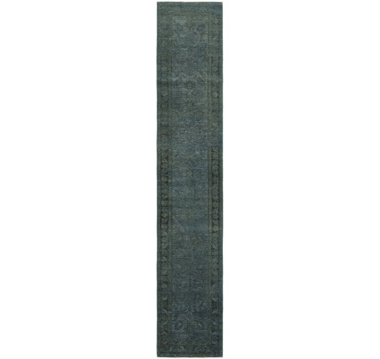 70cm x 415cm Over-Dyed Ziegler Runne...