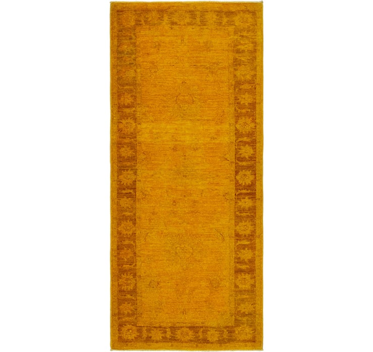 Image of 2' 8 x 6' 3 Over-Dyed Ziegler Runne...